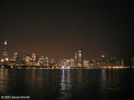 Photo: Chicago nightscape