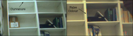 Photo: curvature and false color
