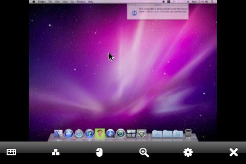LogMeIn iPhone Screen