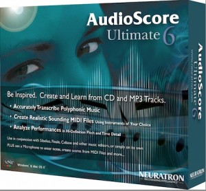 AudioScore Ultimate 6