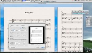 Page Setup in Avid's Sibelius 6