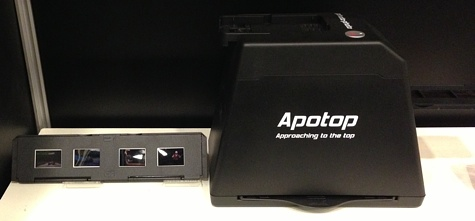 Apotop Photo-Photo. The Apotop Photo-Photo system converts slides, negatives, photos into digital format using your iPhone.