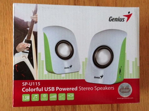 Genius SP-U115 Speakers