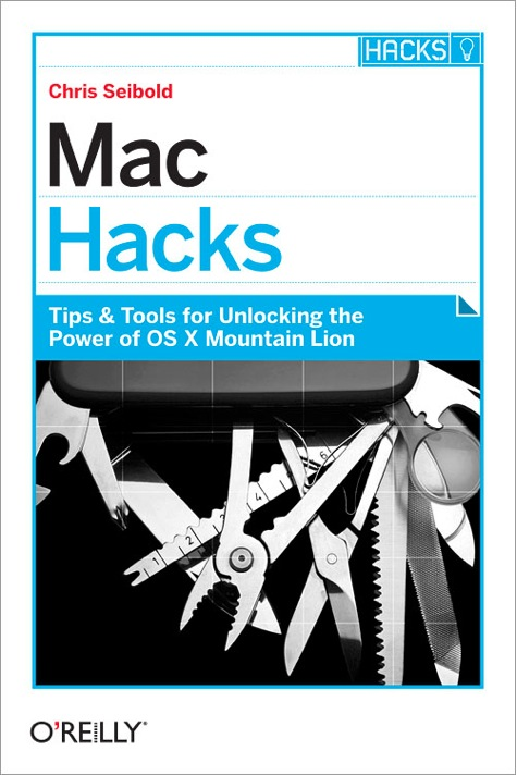 Cover of Mac Hacks book