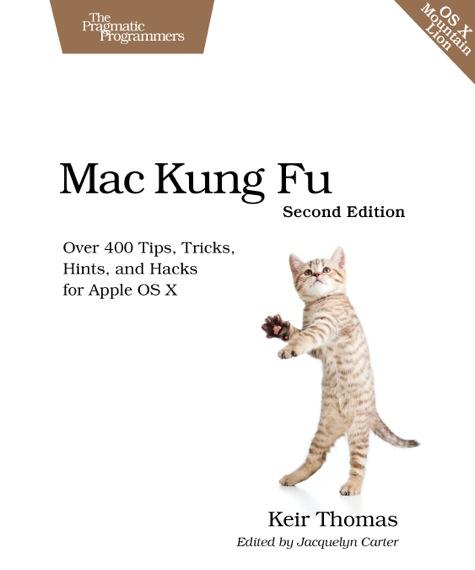 Mac Kung Fu book cover