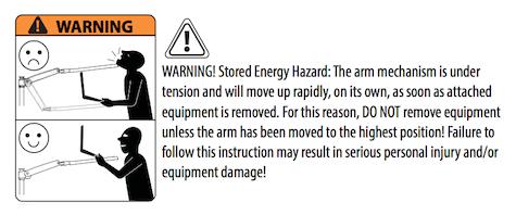 ergo warning 2