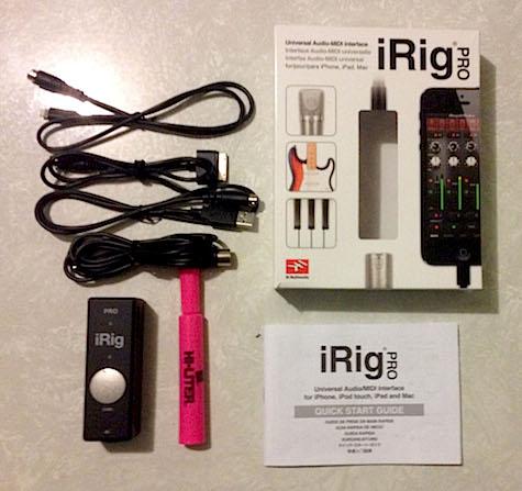 irig pro unboxed