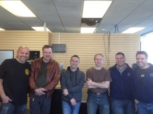 Current and former techs - a 25 year span.