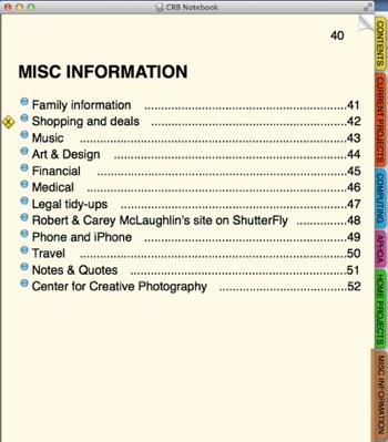 MiscInfo