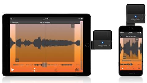 iRic Mic Field iPad iPhone