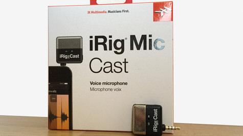 iRig Mic Cast Box Shot