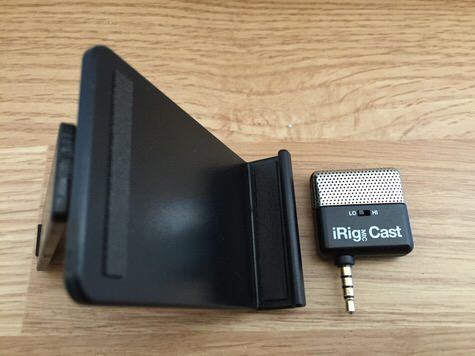 iRig Mic Cast And Stand