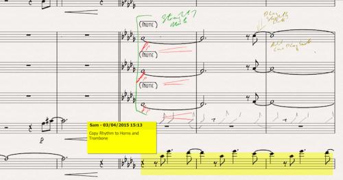 Sibelius 8 Annotations