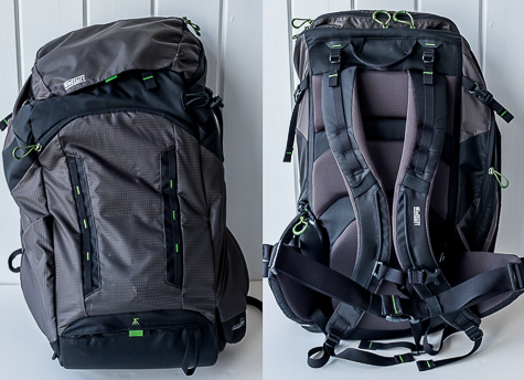 pack front and back