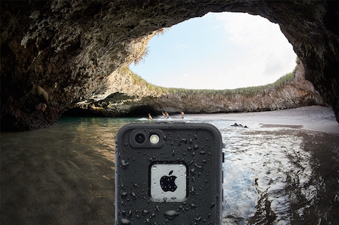 LifeProof FRE helps guard iPhone 6s Plus against water, dirt, drop and snow. Pre-order now on lifeproof.com. (PRNewsFoto/LifeProof)
