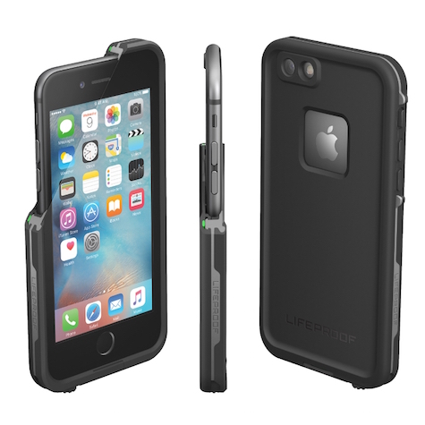 FRE for iPhone 6s Plus provides waterproof, drop proof protection for the toughest adventures. (PRNewsFoto/LifeProof)