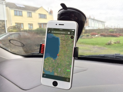 Montar Car Mount With Maps