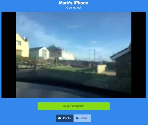 Presence iPhone Streaming Desktop