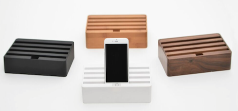 European Design And Styling Combine Forces In This Array Of Beautiful World Best Natural Wood Charging Stations For Ios Other Portable Gear