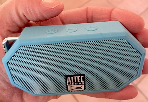 Pocket Party Portable Speaker and Altec Lansing Mini H10 Portable