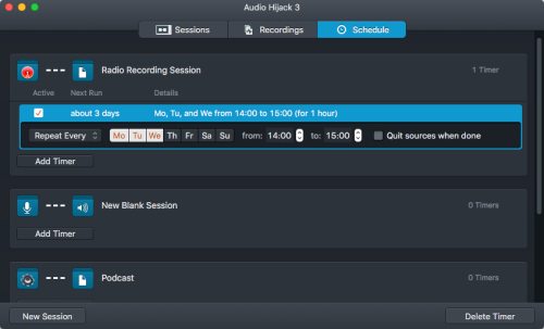 Audio_Hijack Scheduled Recordings