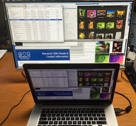 Acer with MacBook Pro