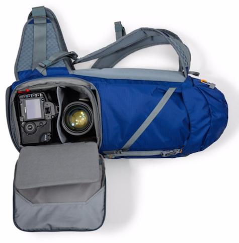 blue pack open side