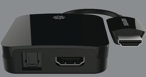 Kanex digital audio adapter