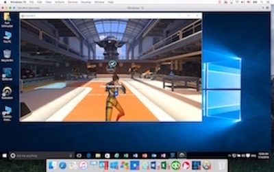 Playing Overwatch in Windows10 with Parallels Desktop 12