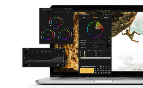 Capture One Pro 10 screen